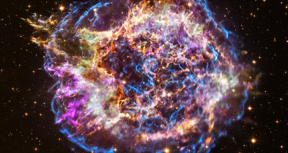 Supernova Remnant of Cassiopeia A Captured by NASA's Chandra X-ray Observatory