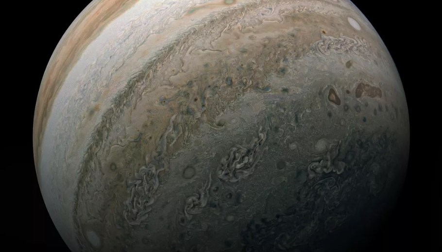 Jupiter Snapped In New Stunning Images By NASA's Juno