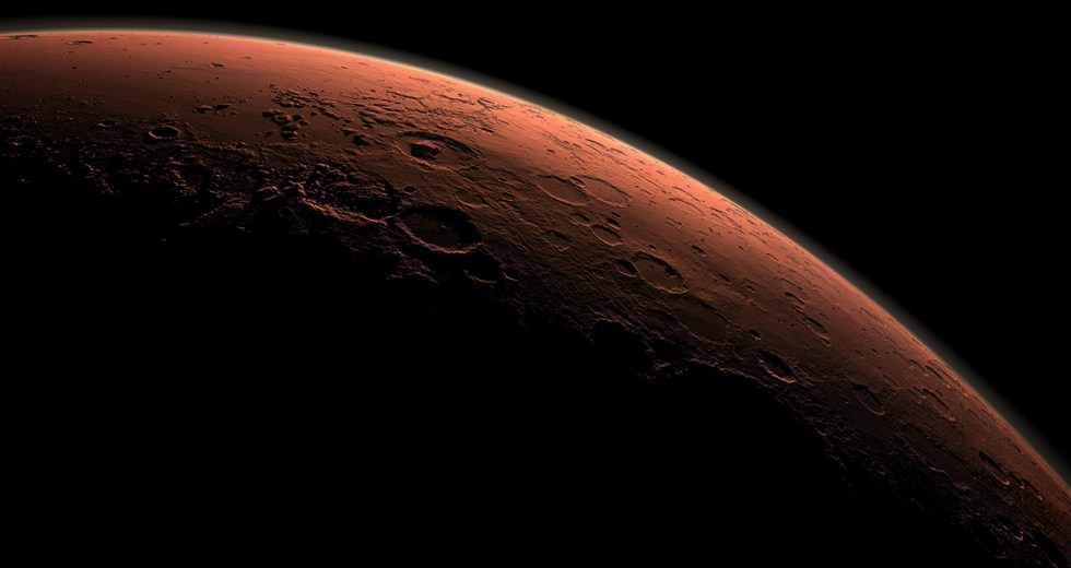 Mars Might Have Been Formed By The Collision Of Two Small Planets
