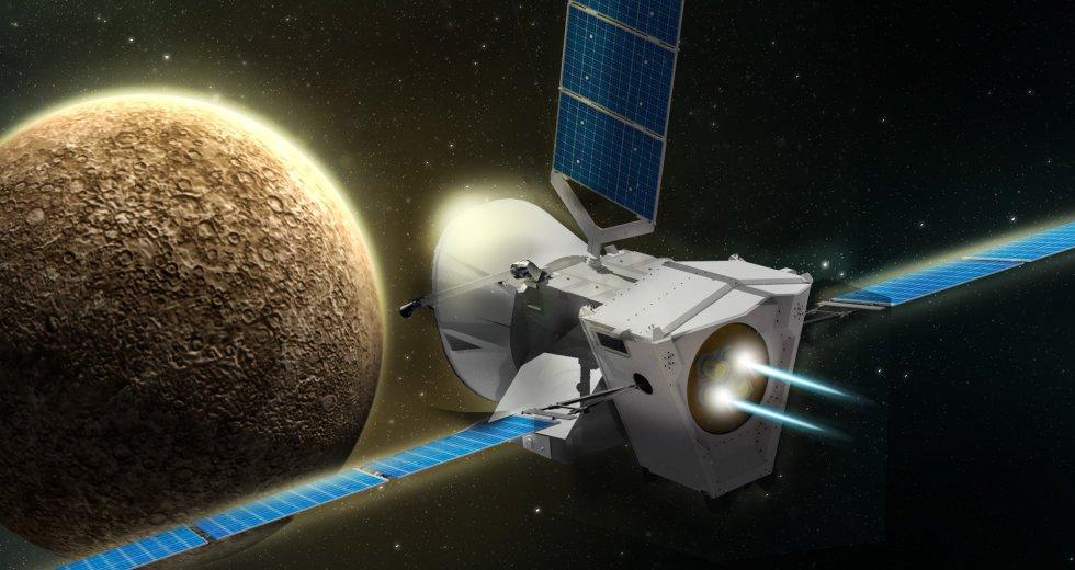 "Mercury Mission, ""BepiColombo,"" Is Saying Goodbye"