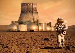 Nuclear Power Plants Will be Built on the Moon and Mars