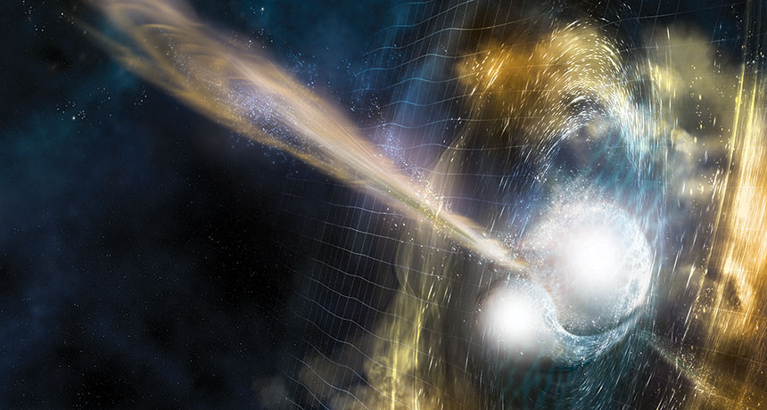 Experts Analyze Another Astronomical Mystery – Here's What Colliding Neutron Stars Generate