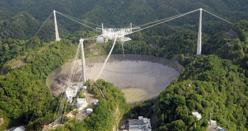 It's The End of The Road for The Arecibo Telescope from Puerto Rico