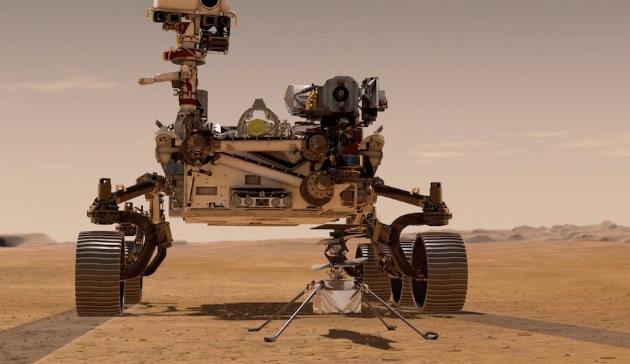 NASA Celebrates the Perseverance Rover's Touchdown on Mars