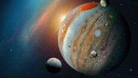 One of Jupiter's Moons Has Water Vapor in Its Atmosphere