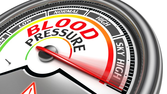 High blood pressure warning - Exercise to Avoid or Deadly Hypertension