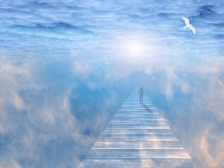 Life After Death: Jesus sat close to me