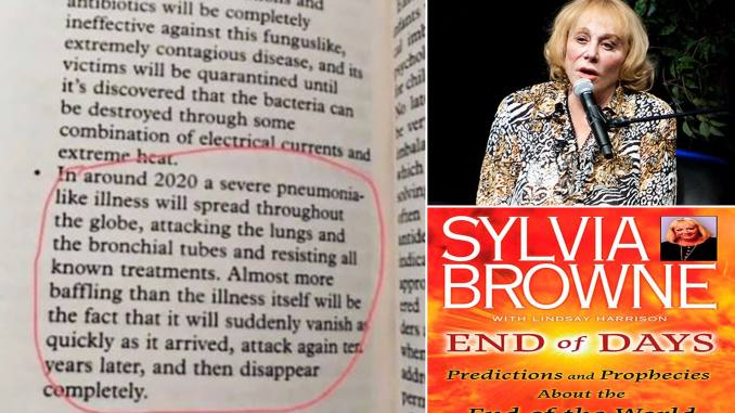 Coronavirus Prediction: Clairvoyant Sylvia Browne Warned about COVID-19