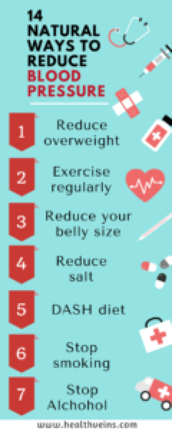 14 natural ways to lower blood pressurea