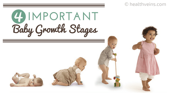 4 Baby Growth Stages before starting to walk