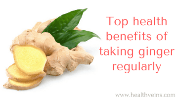 Top health benefits of taking ginger regularly