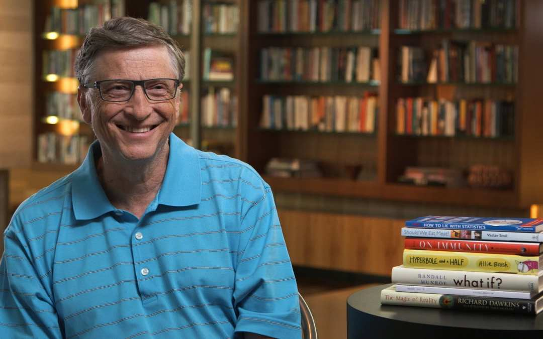 Bill Gates Shared 9 Books to Make You a Better Entrepreneur and a Better Person