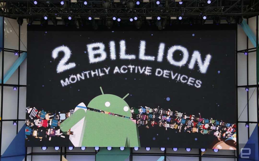Android surpasses 2 billion active devices