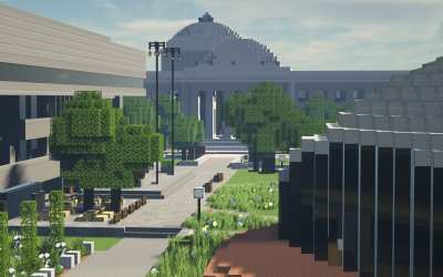 MIT students painstakingly recreated their iconic campus in 'Minecraft'