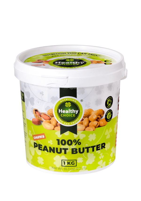 "Peanut butter ""Healthy Choice"" 1Kg"