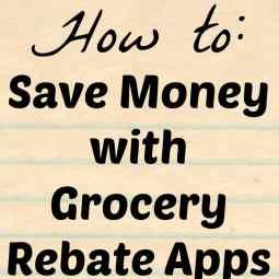 Grocery Rebate Apps
