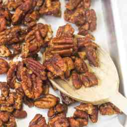 Simple Honey-Glazed Pecans