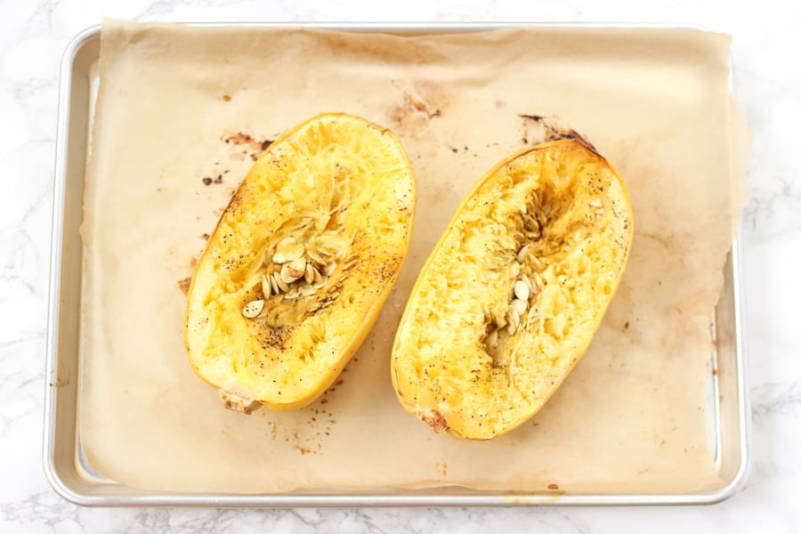 How to cook spaghetti squash in oven