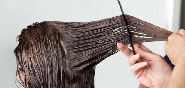 فرد الشعر بمواد الكيماوية غير آمن