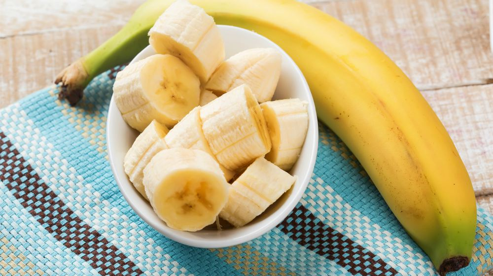 الموز و الامساك