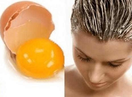فوائد صفار البيض للشعر