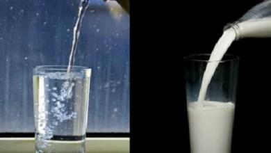 Photo of تعرف على تناول الماء والحليب بشكل صحيح
