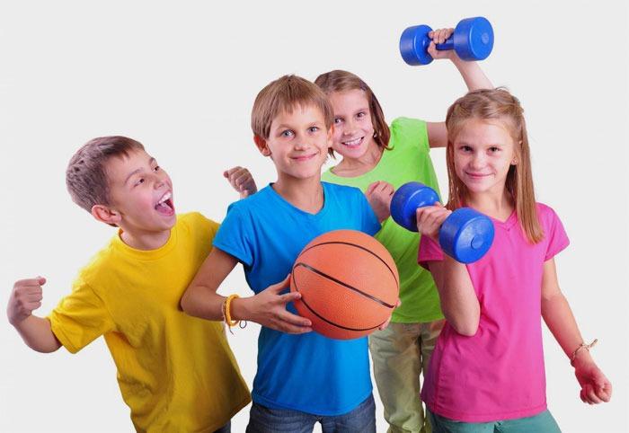 الرياضة والطفل