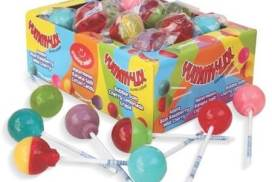 With a handful of options available, we have flavors and colors available for a wide range of preferences.  Total of 640 Mouthwatering Yummy Lix Lollipops per case.