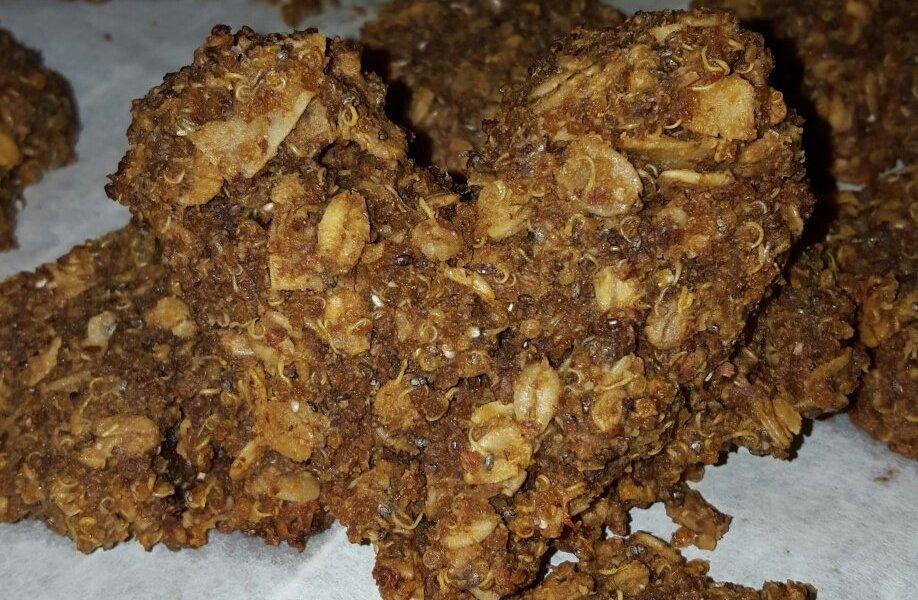 Healthy Gluten Free Quinoa Super Cookies