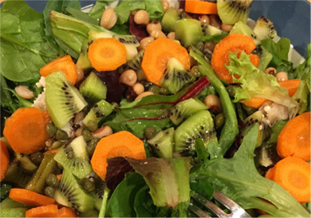 thumbnail image of a fruit and veggie salad