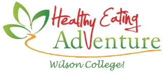 wilson college healthy eating community logo
