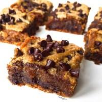 carrés fondant peanut butter vegan