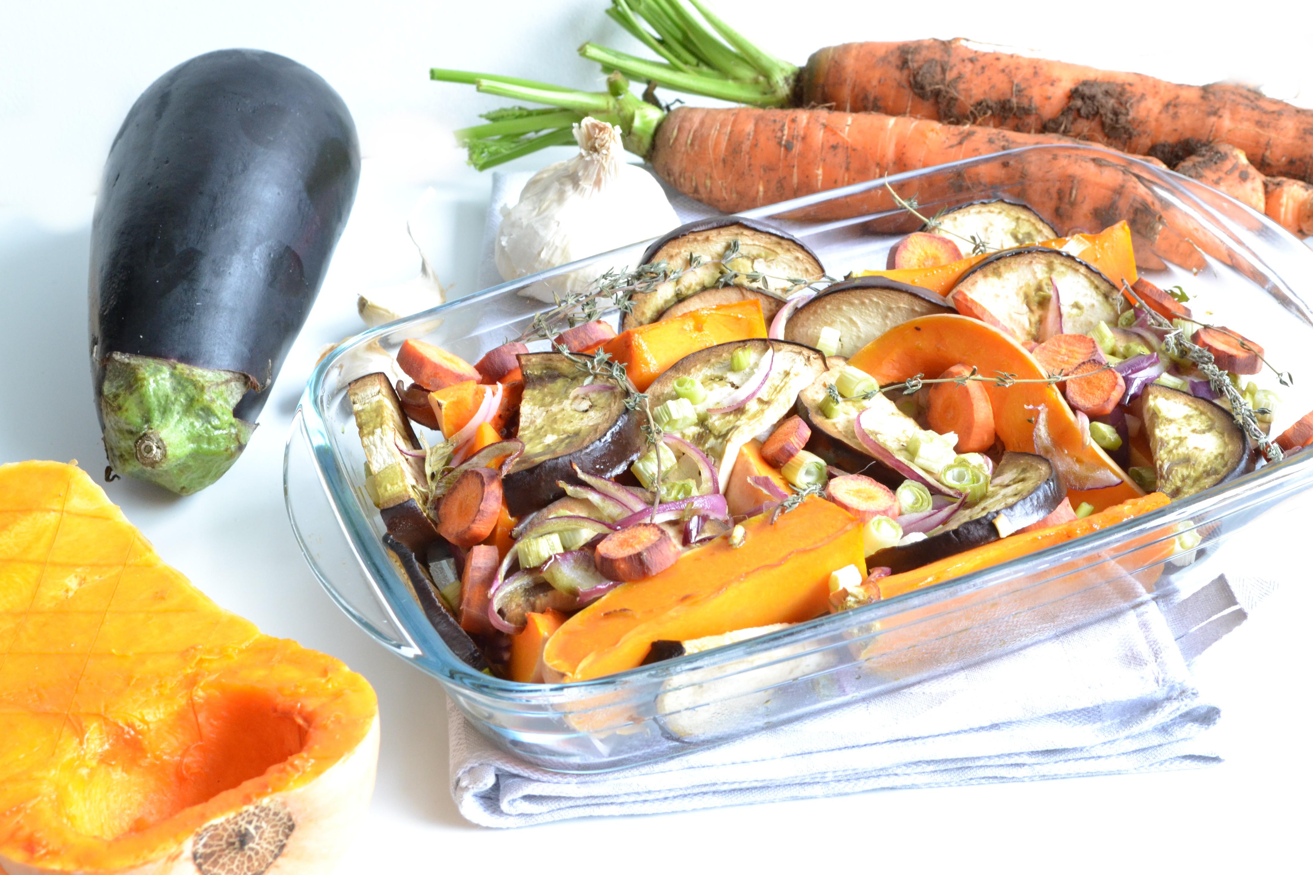 Légumes d'hiver au four