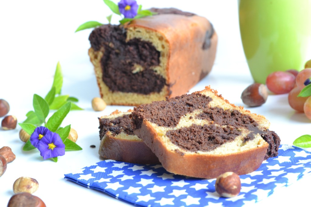 cake marbr au chocolat g teau sans sucre ni mati res. Black Bedroom Furniture Sets. Home Design Ideas
