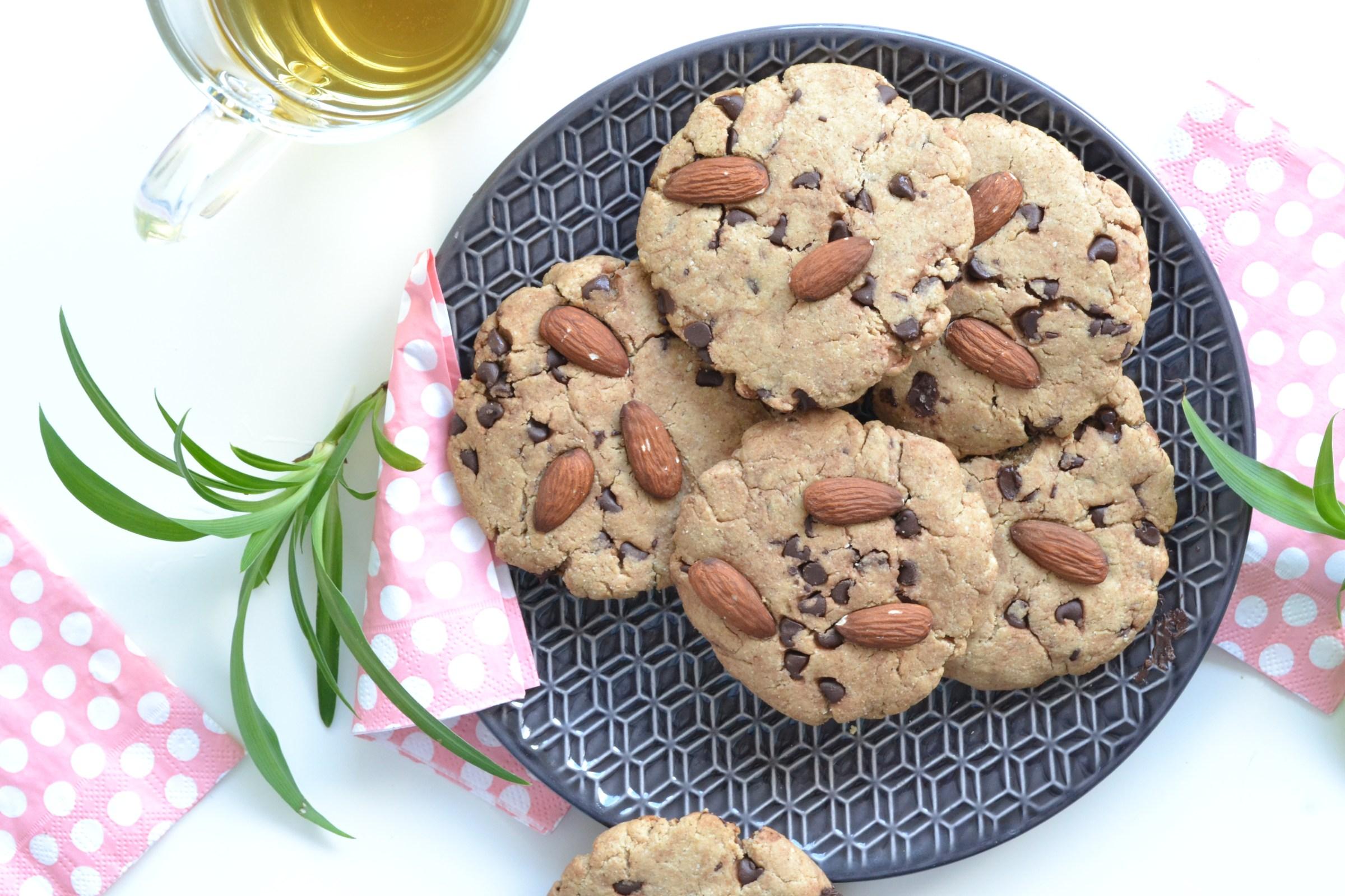 Recette healthy de cookies à la purée d'amande