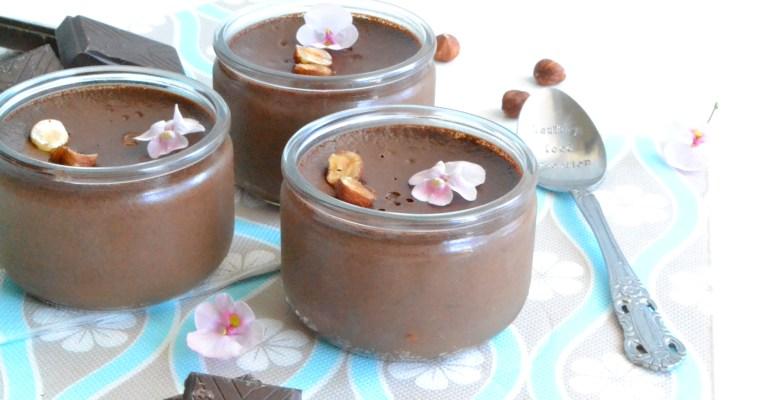 """Petits pots de crème au chocolat façon """"La Laitière"""""""