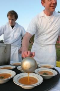 Sweet Land Farm Harvest Dinner 2009 100