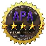 EpiPet APA 5 star Approval Logo New