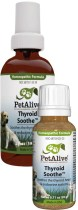 Pet Alive Thyroid Soothe promotes healthy thyroid functioning in pets