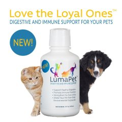 LumaPet supports healthy digestion and immune systeem function for our dogs and cats.