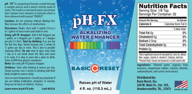 pH-FX Label