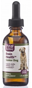 Brain Health Booster for Senior Dogs reduces confusion and memory problems