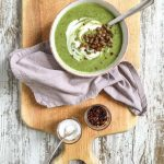 Broccoli Spinach Leek Soup