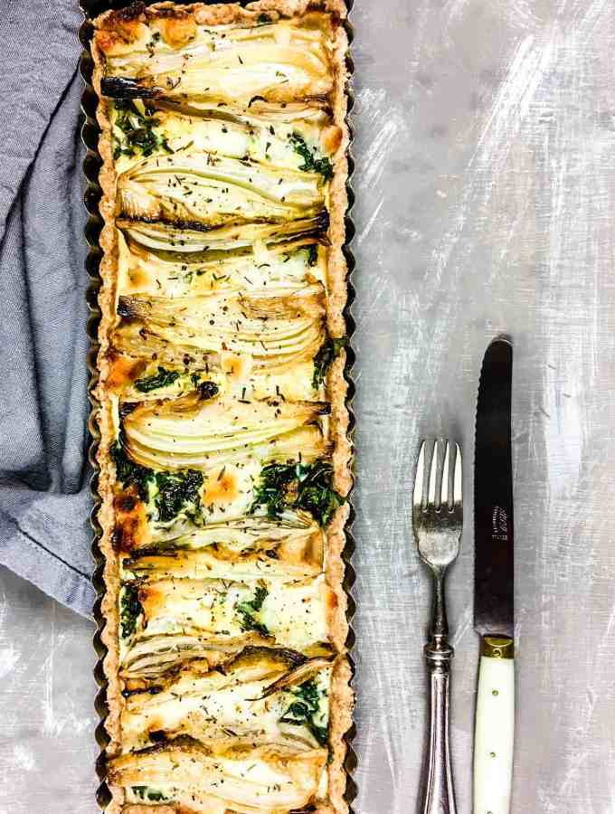 Fennel & Goat Cheese Tart