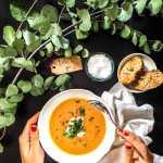 Roasted Sweet Potato Soup