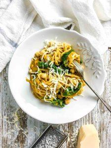 Spaghetti w Roasted Squash Sauce