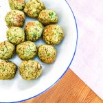 healthy fast food Green Falafel