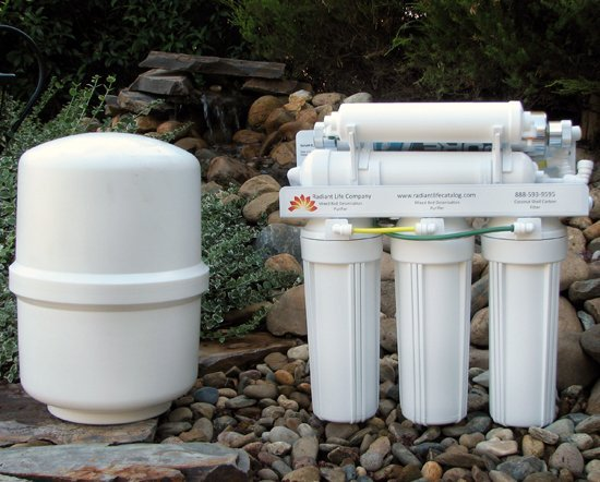 radiant life water filter is the best type of water filter
