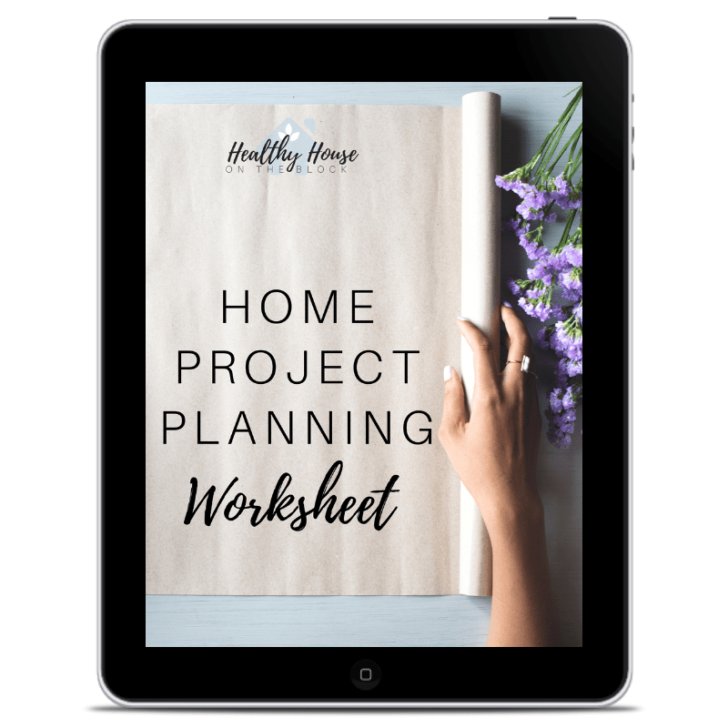 house project planning worksheet