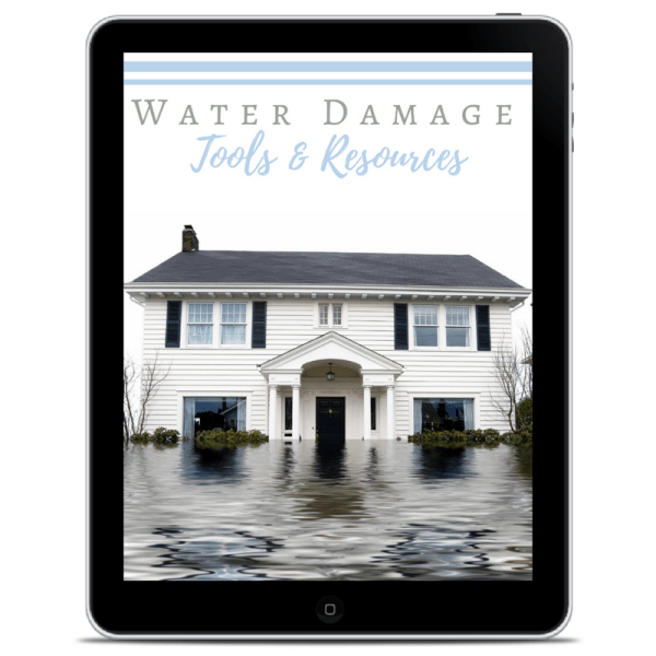 how to spot water damage and what to do about it